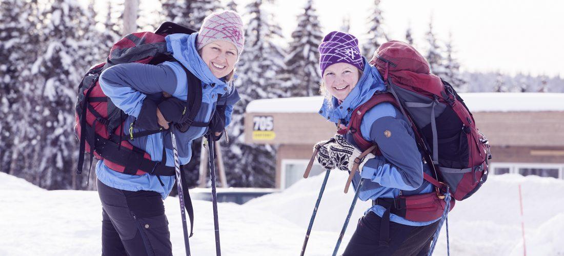 Damene i Fjelldriv er Marit Østby Nilsen og Solveig Græsli. Fjelldriv har kontor på 705 Senteret i Tydal.